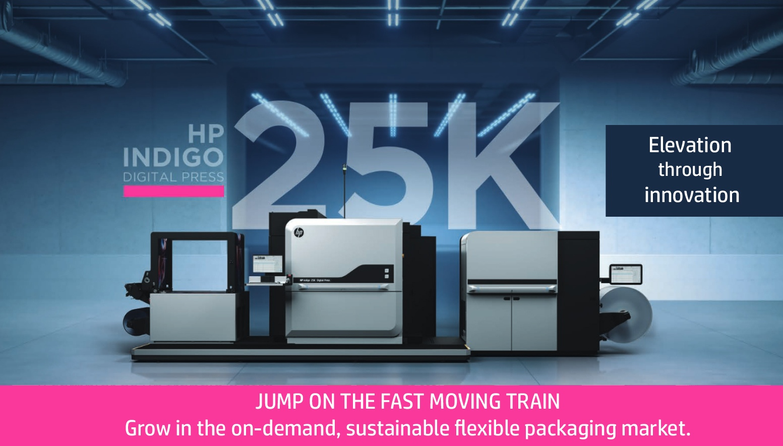 HP Indigo 25K Digital Press